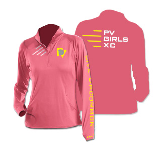 PV XC Ladies Half-Zip Pullover