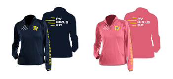 PV XC Ladies Pullover Color Options