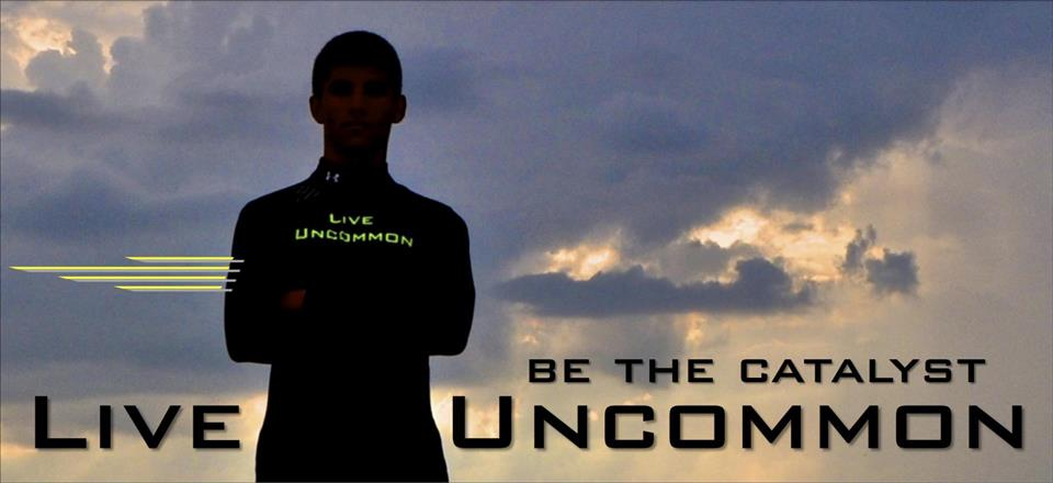 Live Uncommon front page banner.