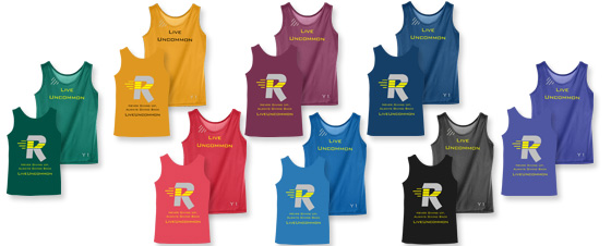 Wicking Tank colors