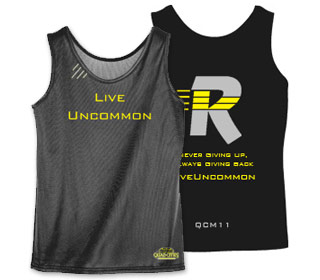 Quad City Marathon Ladies Wicking Tank